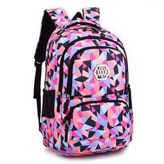 Cheap backpack children, Buy Quality girls school bags directly from China girls fashion school bags Suppliers: Fashion Girl School Bag Waterproof light Weight Girls Backpack bags printing backpack child School Bags For Sale, Cheap School Bags, School Bags For Girls, School Book Bags, Cute Backpacks For School, Cool Backpacks, Backpacks For Girls, Leather Backpacks, Leather Bags