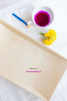 3 Stylish Decorative Trays Anyone Can DIY #theeverygirl