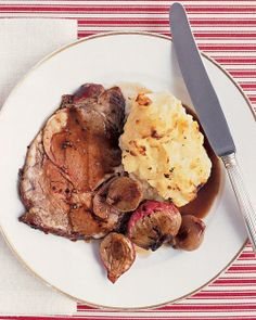 Roast Beef with Caramelized Shallots Recipe