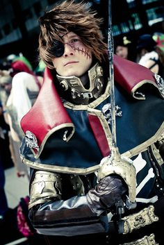 Cosplay Captain Harlock - Albator by cosplayquest, via Flickr