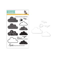 Simon Says Stamps And Dies CLOUDY SKIES Set247CS Reason To Smile zoom image