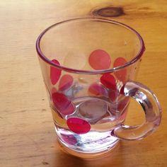 물방울 잔