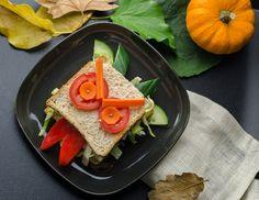 Halloween Gruselmonster Sandwich
