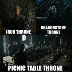 Game of Thrones. We need to get Jon a better throne.