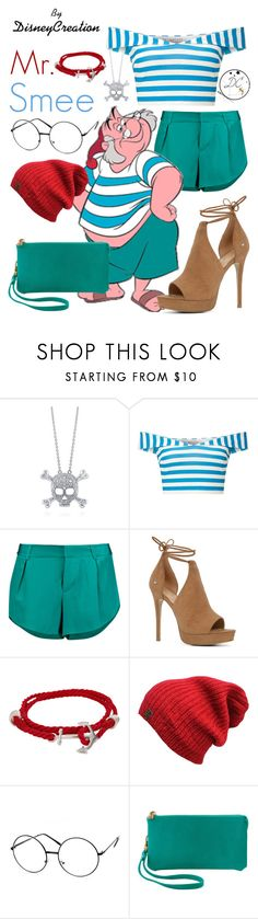 """""""Mr. Smee - By DisneyCreation"""" by disneycreation ❤ liked on Polyvore featuring BERRICLE, Miss Selfridge, Alice + Olivia, ALDO and Humble Chic"""