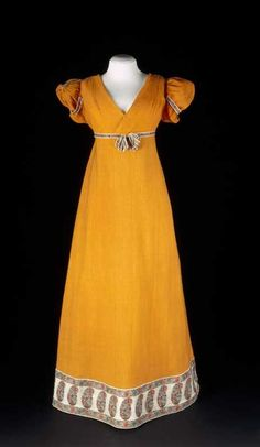 Dress ca. 1810 From the Centraal Museum