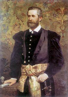 Portrait of Ludwik Wodzicki 1880