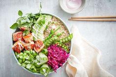 Quick Crispy Salmon Spring Bowl / Taste