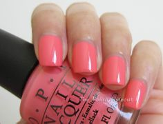 OPI Sorry I'm Fizzy Today - Coca-Cola Collection