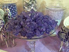 Purple rock candy