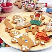Gingerbread Men, Recipe from Cooking.com