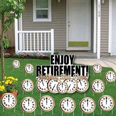 Enjoy Retirement! Nothing But Time! Yard Card- Retirement... https://www.amazon.com/dp/B06XK2VZDP/ref=cm_sw_r_pi_dp_x_eOc0ybBVWHK56