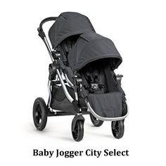 Baby Jogger City Select (not a jogging stroller) ~ This stroller converts to a double. It also is modular and lets your baby face forward or face you. In fact, there are over 16 different configurations!