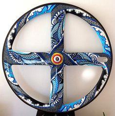 Customised Corima Carbon 4 Spoke Wheel by SUZKO on Etsy