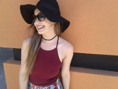 The perfect floppy hat & #Guess sunglasses make such a stylish addition to your summer outfit - Shop with us today!