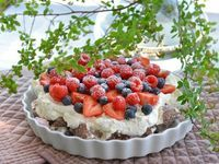 Denne kaken lager du på 10 minutter! Ny favoritt - Franciskas Vakre Verden Acai Bowl, Pudding, Baking, Breakfast, Desserts, Food, Acai Berry Bowl, Morning Coffee, Deserts