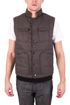 Amazon.com: Biography Wear mens urban utility vest, Brown, Large: Clothing