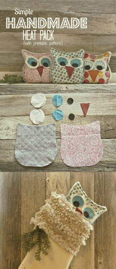 Awesome owl handwarmer and stocking stuffer idea- with free pattern included.  Fun Christmas gift idea!