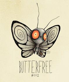 Butterfree tim burton