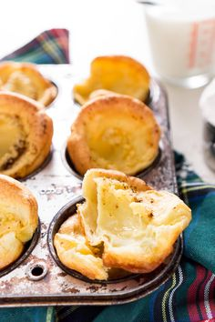 Easy Yorkshire Pudding Popovers are classic, 5-ingredient, English rolls that are delicious, quick and easy to make, and disappear fast! Pair them with a Sunday roast dinner or smother them in jam for breakfast!