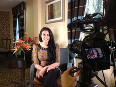 Being interviewed for #TanabiTV x