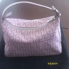 Sooooooo pretty!!!!  I just discovered this while shopping on Poshmark: FENDI. Unique purple Authentic Fendi with code. Check it out! Price: $250 Size: OS, listed by zoezuo