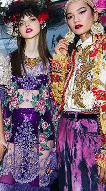 f1f9cd2ca21 Dolce   Gabbana s latest Alta Moda takes place at Lake Como