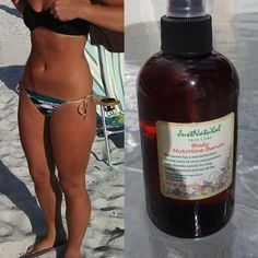 This product is a MUST try for anyone who enjoys tanning. The glow it gives my skin is just incredible. I even use it when I don't tan when I get out of the shower and skin looks great all day. Healthy and shiny. No stickiness.