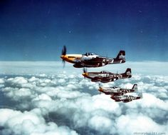 """""""The Bottisham Four"""", flight of four North American Aviation Mustang Fighters, 26 July (United States Air Force) Ww2 Aircraft, Fighter Aircraft, Military Aircraft, Fighter Jets, P51 Mustang, Photo Avion, Picture Site, Aircraft Painting, World War Ii"""