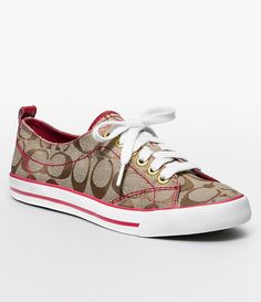 Love these coach sneakers :) Jordan Shoes For Sale, Michael Jordan Shoes, Coach Sneakers, Coach Shoes, Nike Air Max 2011, Nike Wedges, Kobe Shoes, Melissa Shoes, Leather Sneakers