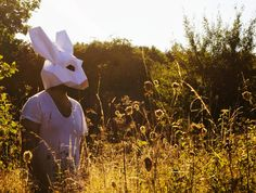 Make your own Rabbit Mask Eastern Bunny Animal by AwesomePatterns