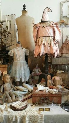 Aunt Agatha's babies..... Eccentric relatives, decayed decadence.
