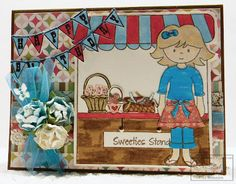 Created by Tina Milburn - using: Abigail, Jelly Bean Time, Sweeties Stand and Live Love Grow stamp sets
