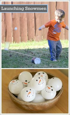 Great science activity for toddlers, preschoolers, and elementary-aged kids! (Simple Machine Science for Kids: Launching Ping Pong Balls with a Homemade Lever- BuggyandBuddy.com)