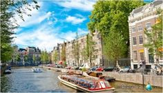 amsterdam-canales barco
