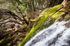 Cascada de Es Salt des Freu en Mallorca, Islas Baleares - by machbel