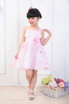 Retail 2013 New Summer Girls Dresses Princess Flower Children Dress Embroidery Fashion One-piece, Free Shipping GD071