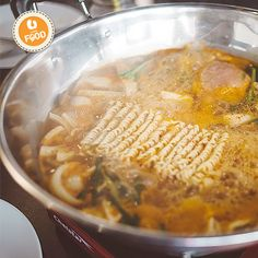Ticket to Korea Restaurant at Puchong serves classic Korean dishes with a modern take. A big, bubbling pot of hearty kimchi soup seasoned with meat of your choice and a bowl of tomato clam soup are exciting picks for family dining!  #UFood #UFoodKorean #UFoodKL #TicketToKorea