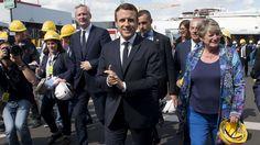 Emmanuel Macron: estudantes do ensino médio fugia da escola para vê-lo, eles assinam um pedido de desculpas