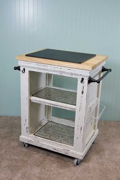 Kitchen Cart via Kline Designs