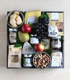 Gourmet cesta de regalo Queso |