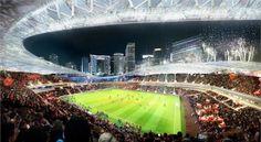 貝克漢計劃打造邁阿密全新足球場曝光 理想生活實驗室 貝克漢早前計劃在邁阿密打造全新的足球場,近日該足球場效果圖曝光。這個外觀看起來像碗狀的足球場位於邁阿密港旁,佔地14.5公頃,預計能容納25000現場觀眾,周邊則為綜合商業區,由邁阿密  ARQUITECTONICA公司和360建築設計事務所共同設計。