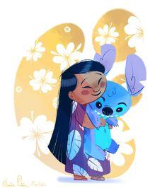 Lilo and Stitch by Jazzekat on DeviantArt