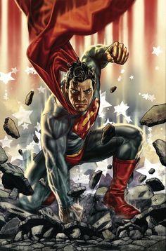 #Superman #Fan #Art. (SUPERMAN #703 Cover) By: Lee Bermejo. AWESOMENESS!!