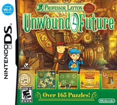 Professor Layton and the Unwound Future [released in North America on September 12, 2010] ~ also titled: Professor Layton and the Lost Future