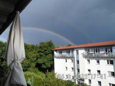 Wenn ich einen Regenbogen sehe, dann fühle ich mich frei ;-)