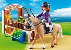 Show Horse with Stall - PM - Sweden PLAYMOBIL® Northern Europe