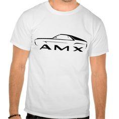 1968-69 AMC AMX Muscle Car Design Tee T Shirt, Hoodie Sweatshirt