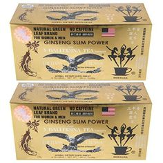 Ginseng Slim Power 3 Ballerina Tea - Herbal Dietary Supplement - Lot of 2 -- See this great product.