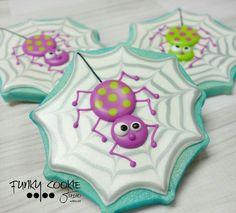 Resultado de imagen para galletas decoradas arañas